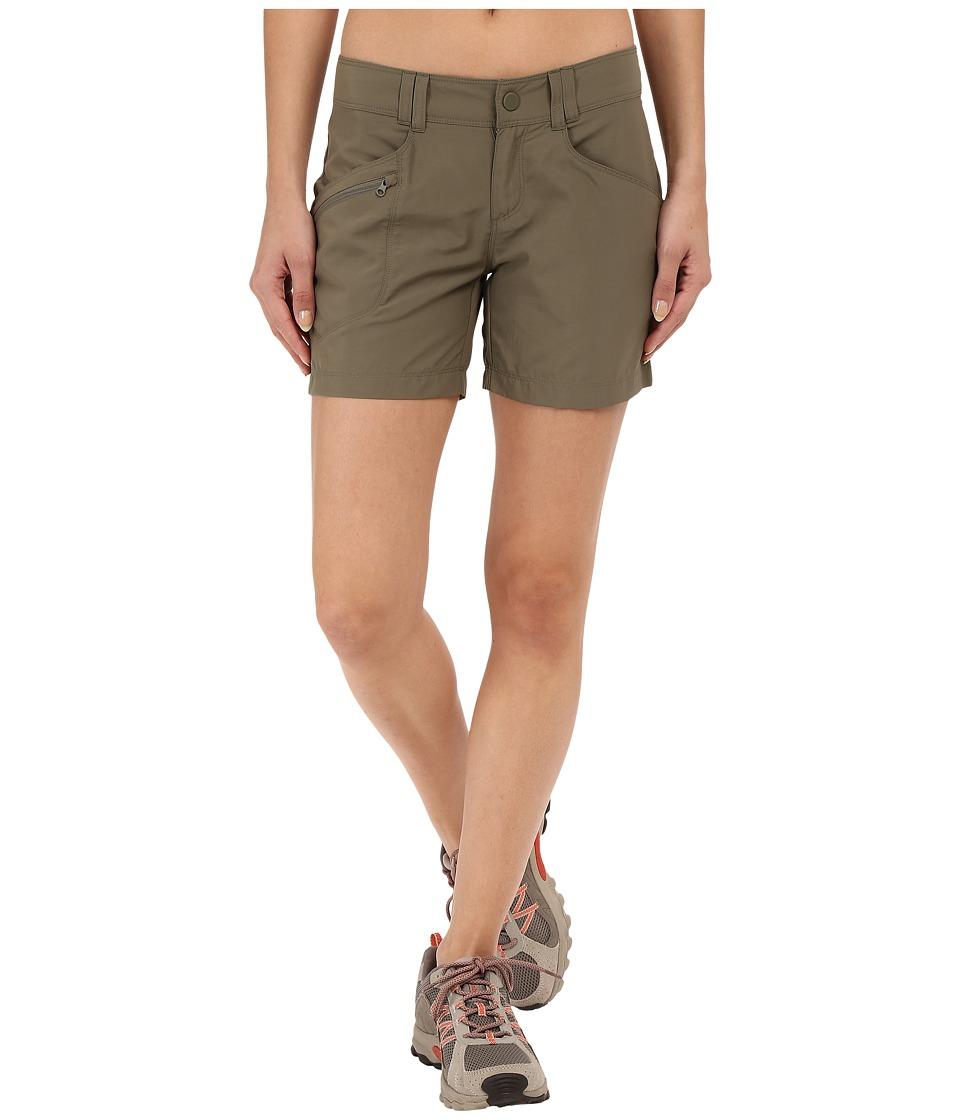 Mountain Hardwear - Ramesa Shorts (Stone Green) Women's Shorts