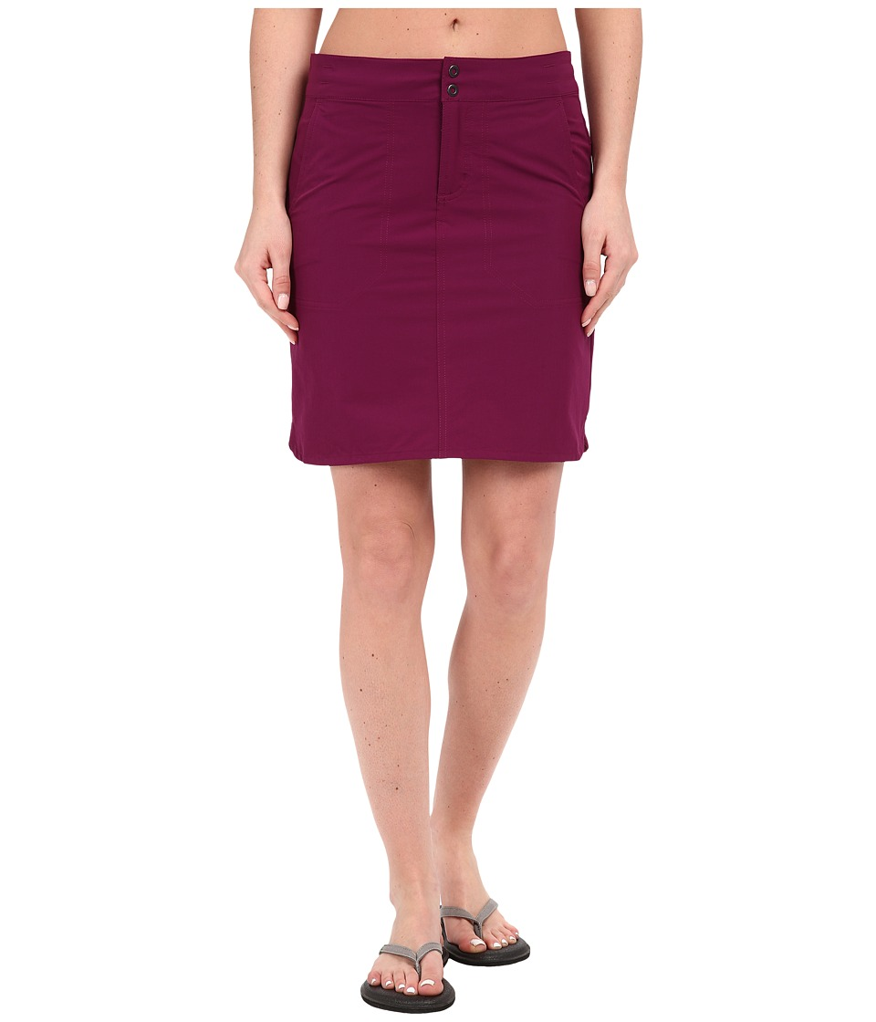 Mountain Hardwear - Yuma Skirt (Dark Raspberry) Women's Skirt