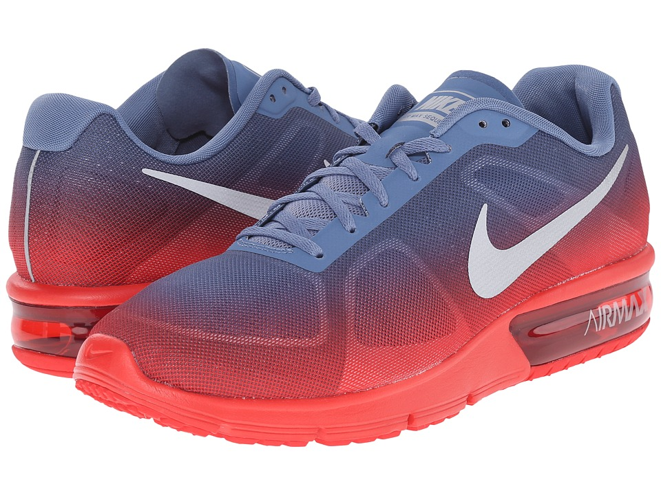 Nike - Air Max Sequent (University Red/Ocean Fog/White/Metallic Silver) Men's Running Shoes