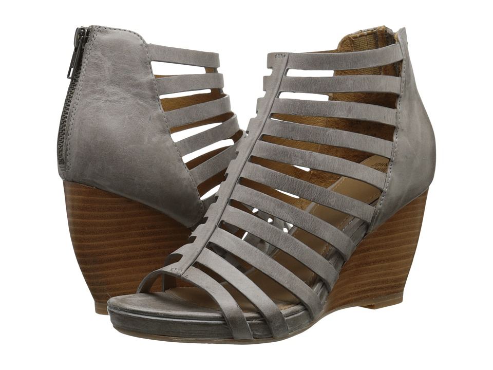 Johnston & Murphy - Nadine (Gray Waxy Italian Calfskin) Women's Shoes