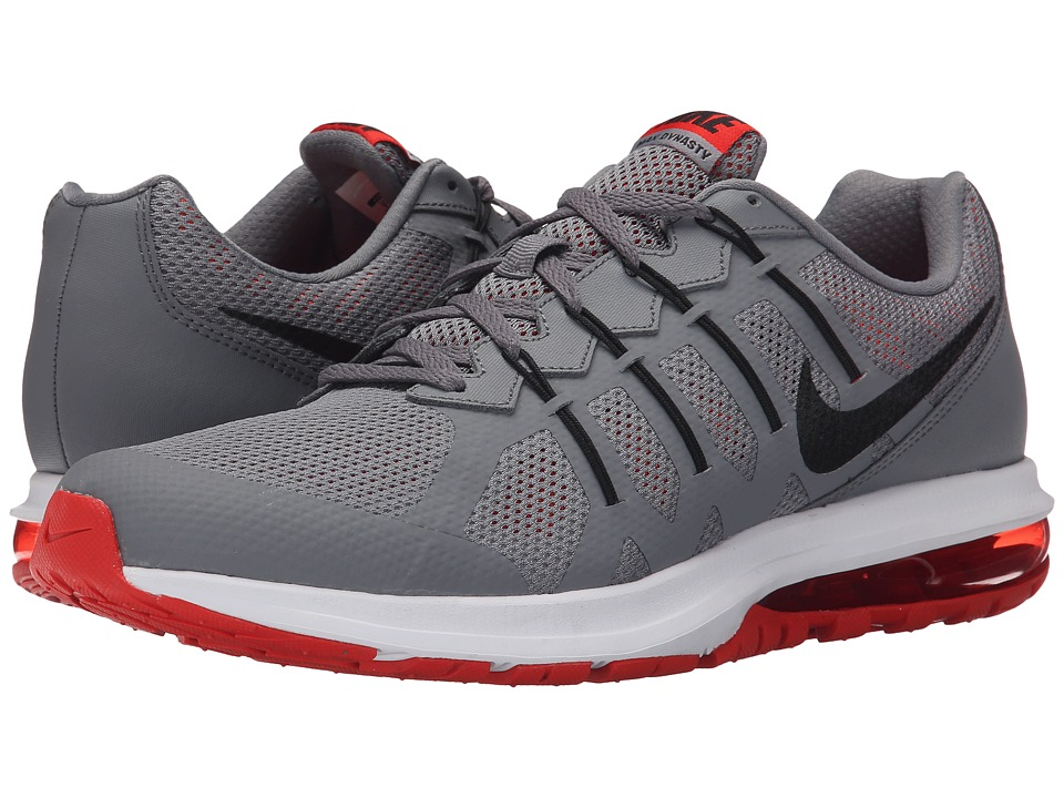 Nike - Air Max Dynasty (Cool Grey/Light Crimson/White/Black) Men's Running Shoes
