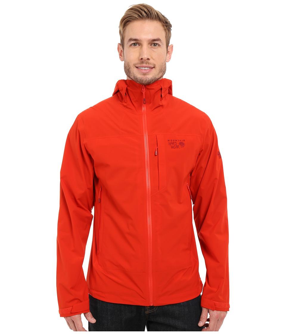 Mountain Hardwear - Stretch Ozonic Jacket (Fiery Red) Men's Coat