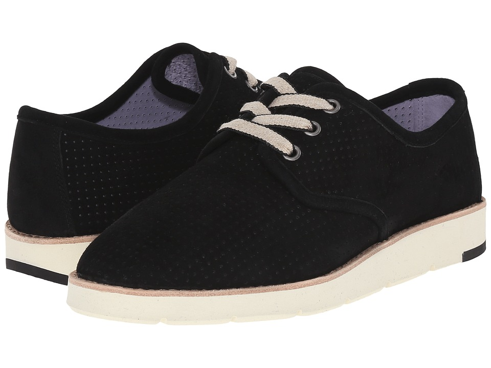 Johnston & Murphy - Phyllis (Black Kid Suede) Women's Lace up casual Shoes