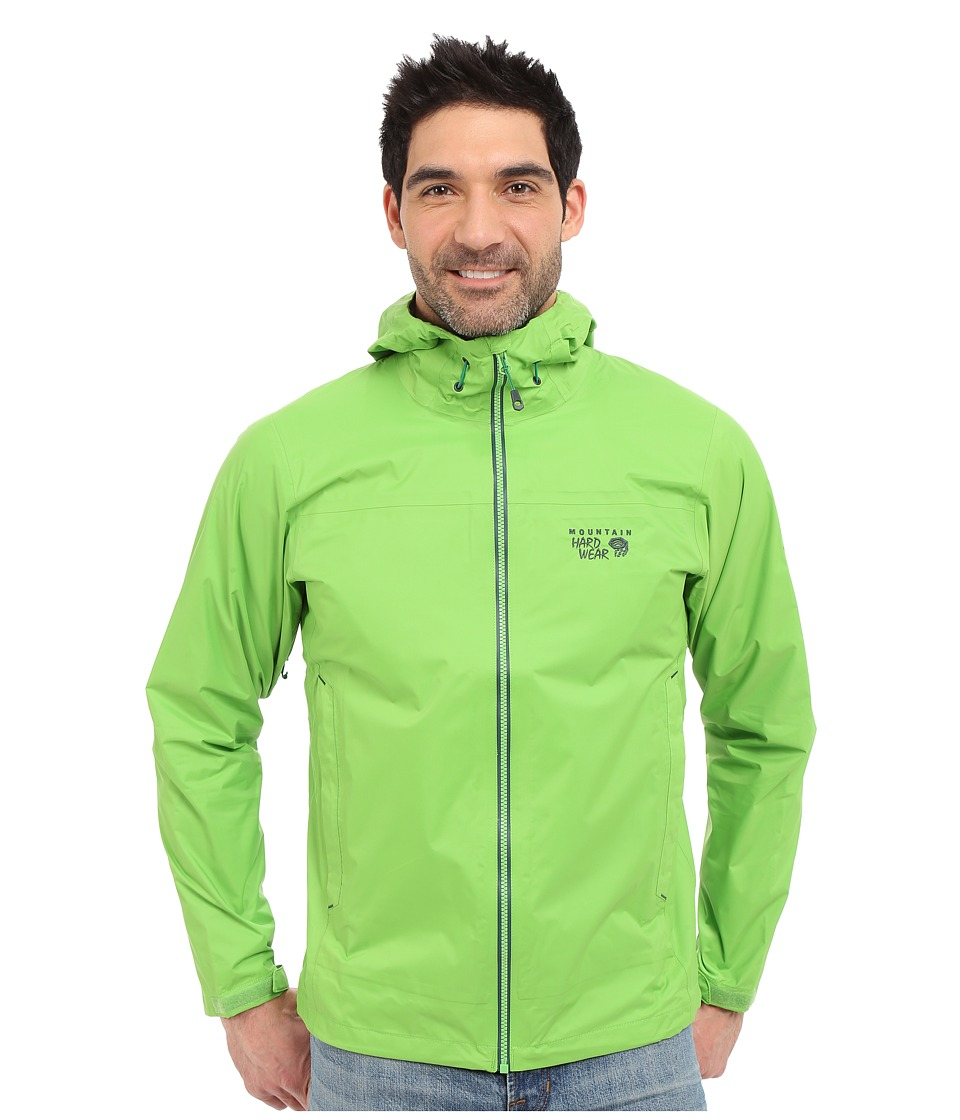 Mountain Hardwear - Plasmic Ion Jacket (Cyber Green) Men's Jacket