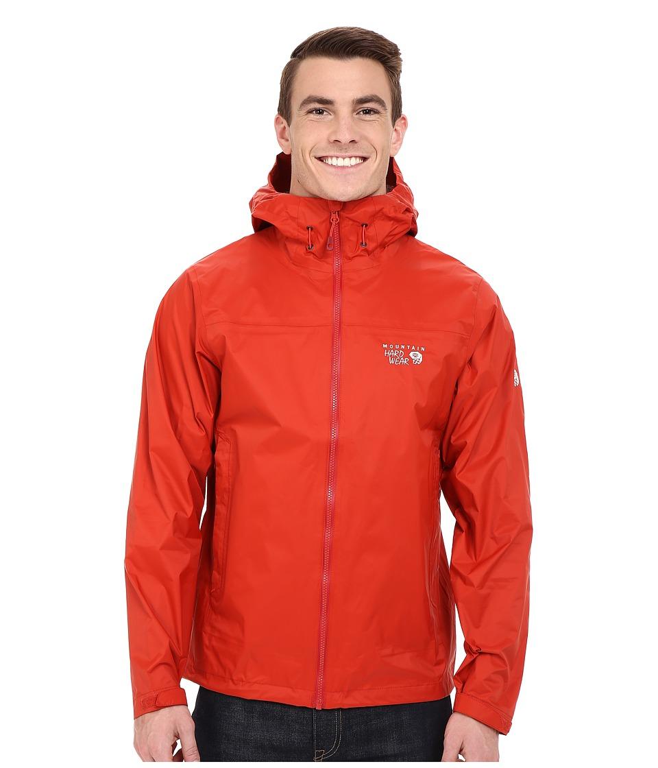 Mountain Hardwear - Plasmic Ion Jacket (Dark Fire) Men's Jacket