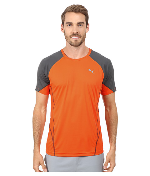 PUMA - PT At Cool Nova Tee (Orange/Grey) Men's T Shirt