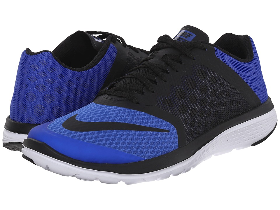 Nike - FS Lite Run 3 (Racer Blue/White/Black) Men's Running Shoes