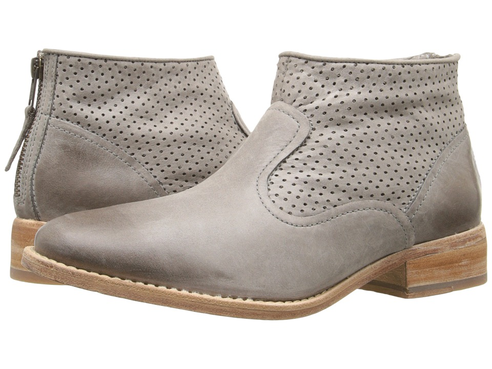 Johnston & Murphy - Vickie (Gray Waxy Italian Calfskin) Women's Shoes