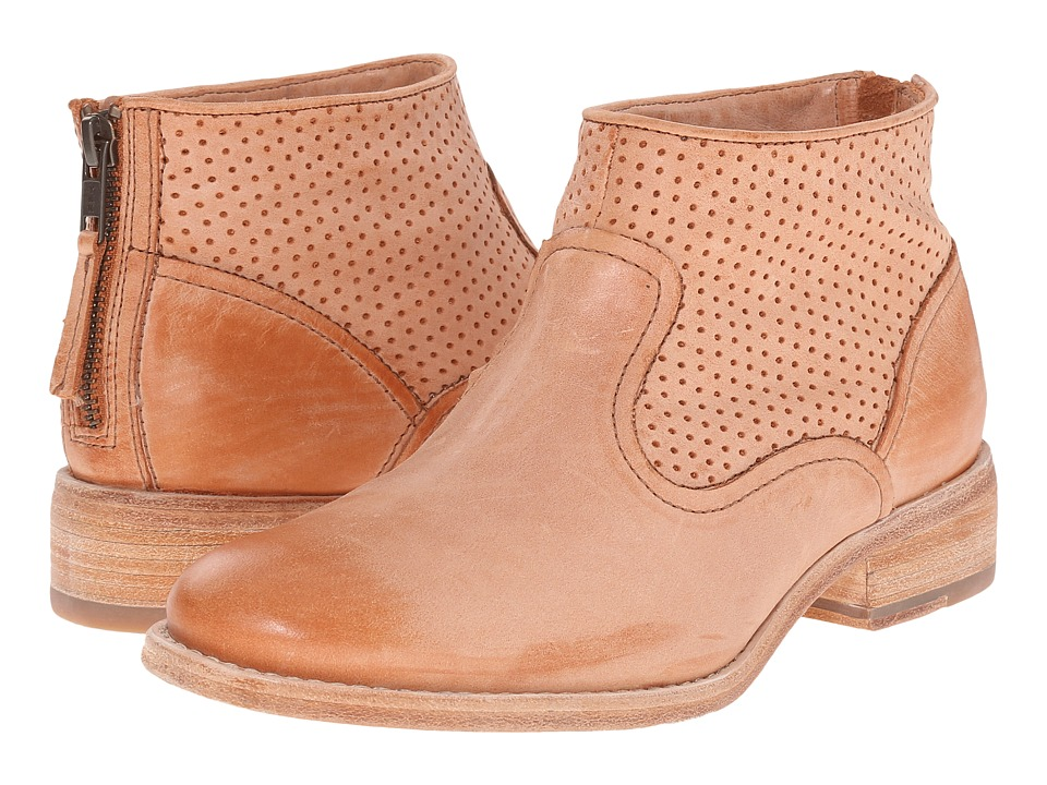 Johnston & Murphy - Vickie (Tan Waxy Italian Calfskin) Women's Shoes