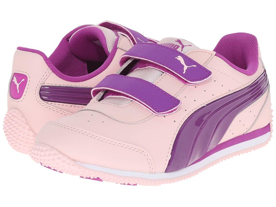 Puma Kids - Speed Light Up V (Toddler/Little Kid/Big Kid) (Pink Dogwood/Purple Cactus Flower) Girls Shoes