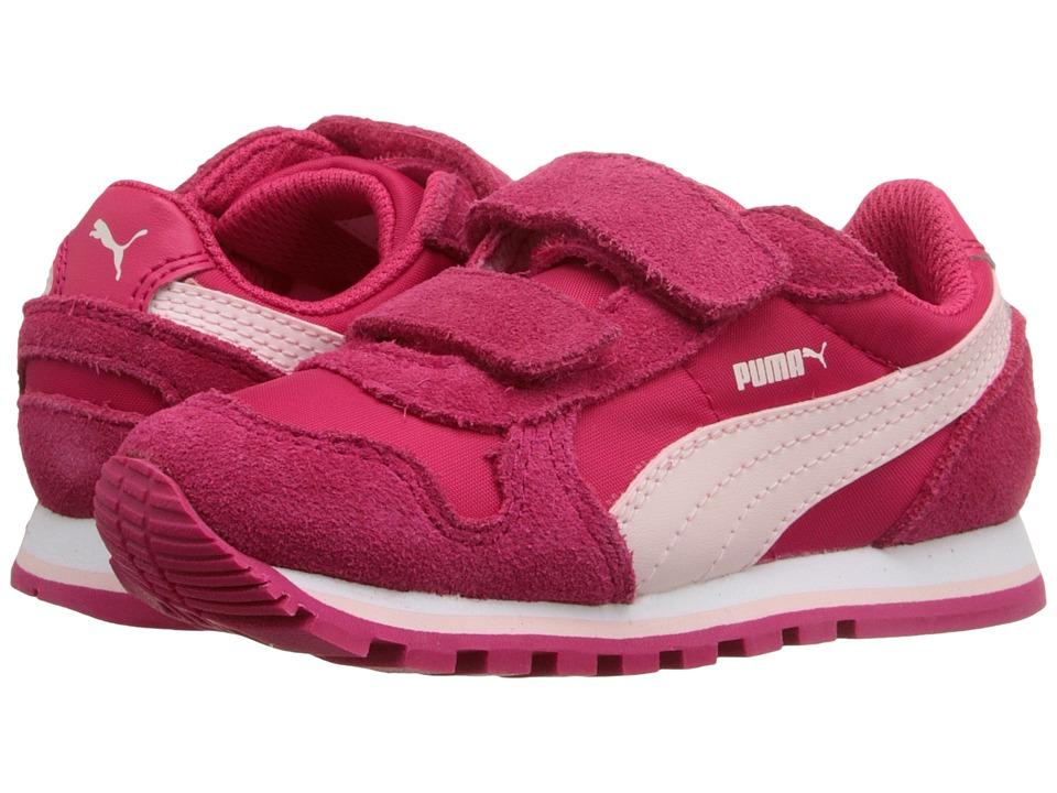 Puma Kids - ST Runner NL V (Toddler/Little Kid/Big Kid) (Rose Red/Pink Dogwood) Girls Shoes