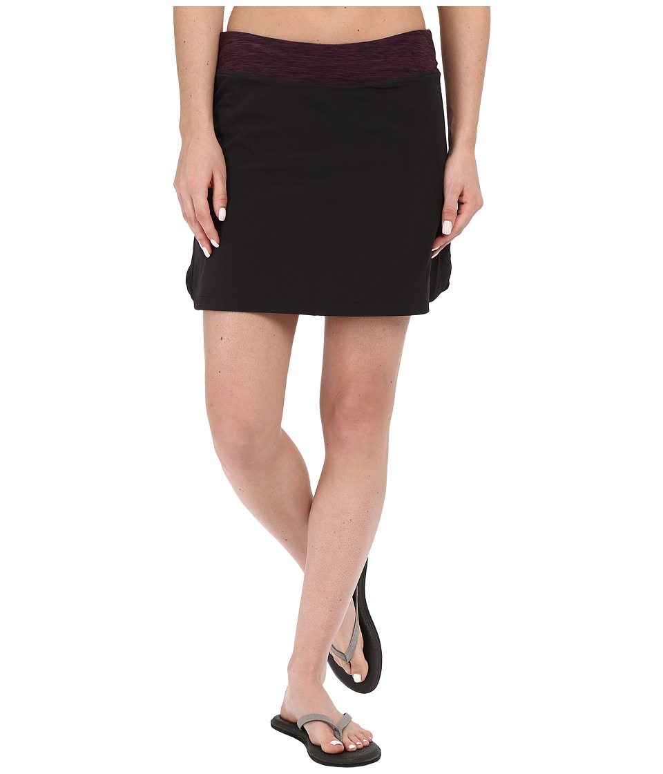 Mountain Khakis - Traverse Skort (Black) Women's Skort