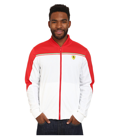 PUMA - SF Track Jacket (White) Men's Jacket
