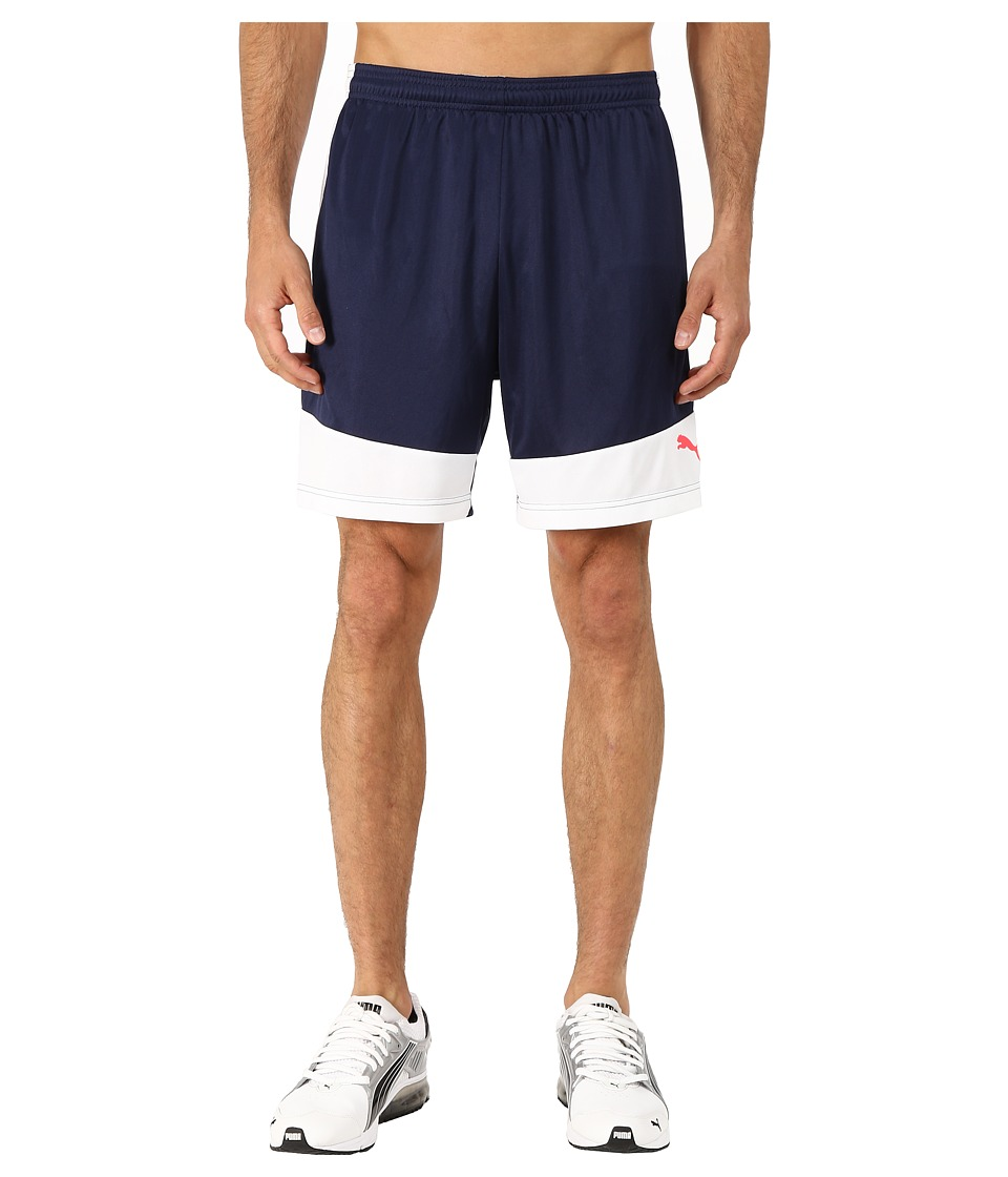 PUMA - IT Evotrg Shorts (Peacoat/White) Men's Shorts