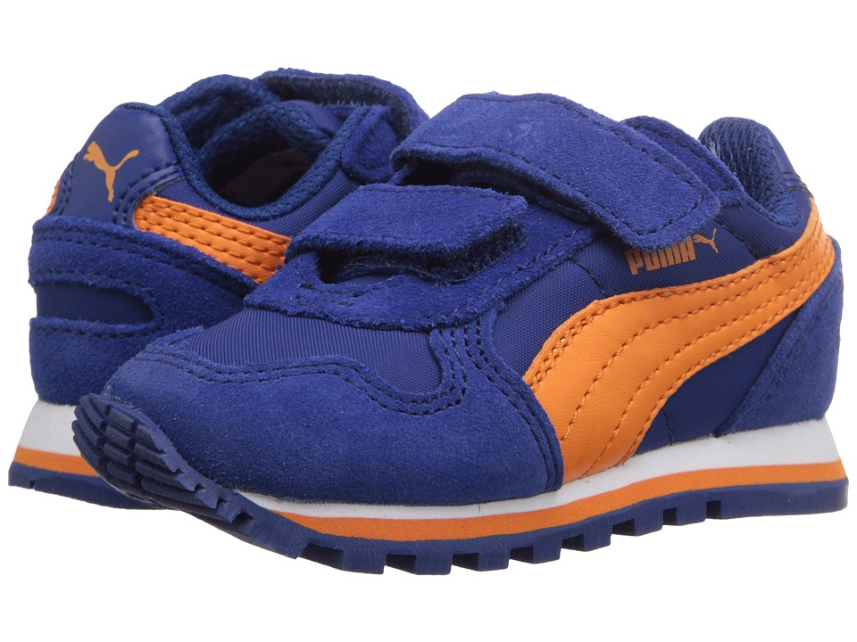 Puma Kids ST Runner NL V (Toddler/Little Kid/Big Kid) (Limoges/Vibrant Orange) Boys Shoes