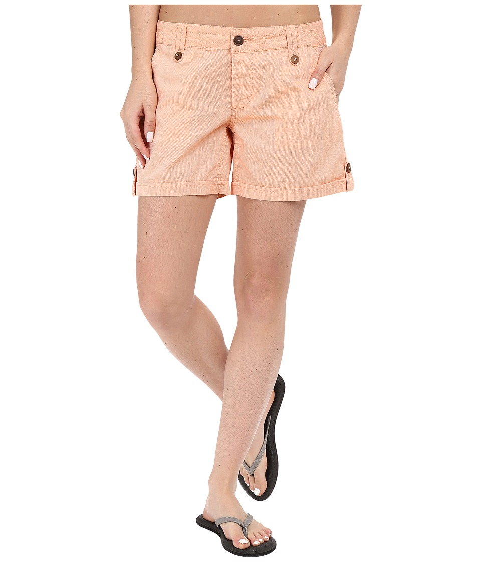Mountain Khakis - Island Short (Peachy) Women's Shorts