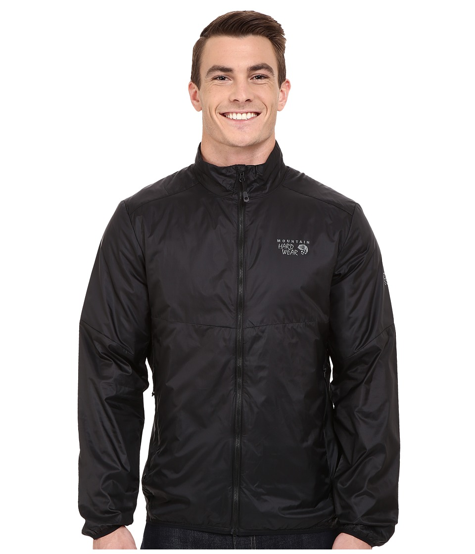 Mountain Hardwear - Micro Thermostatic Hybrid Jacket (Black) Men's Jacket