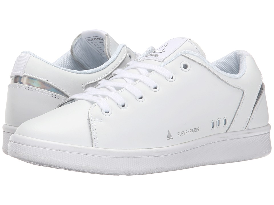 Eleven Paris - 11Prs-Mono (White/White) Men's Shoes