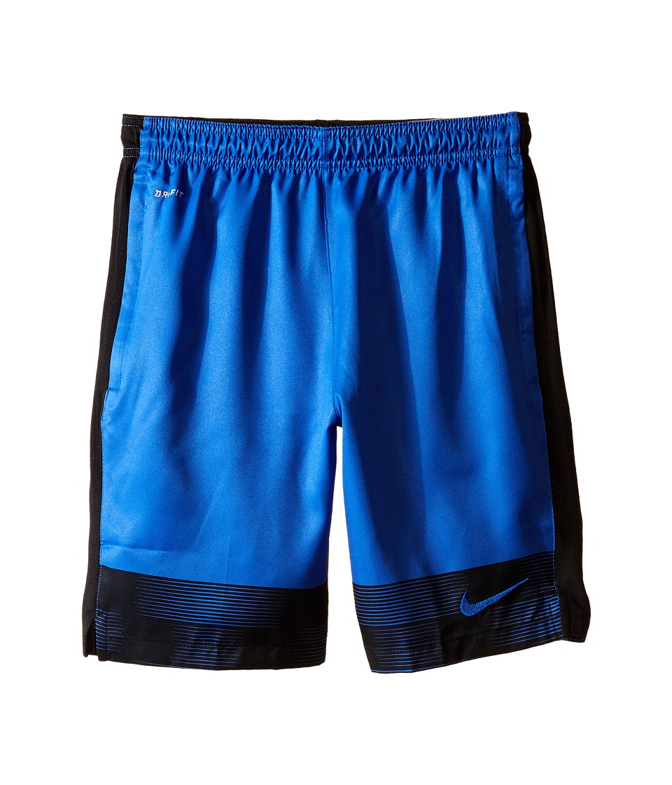 Nike Kids - Strike Graphic Woven Soccer Short (Little Kids/Big Kids) (Game Royal/Black/Game Royal) Boy's Shorts