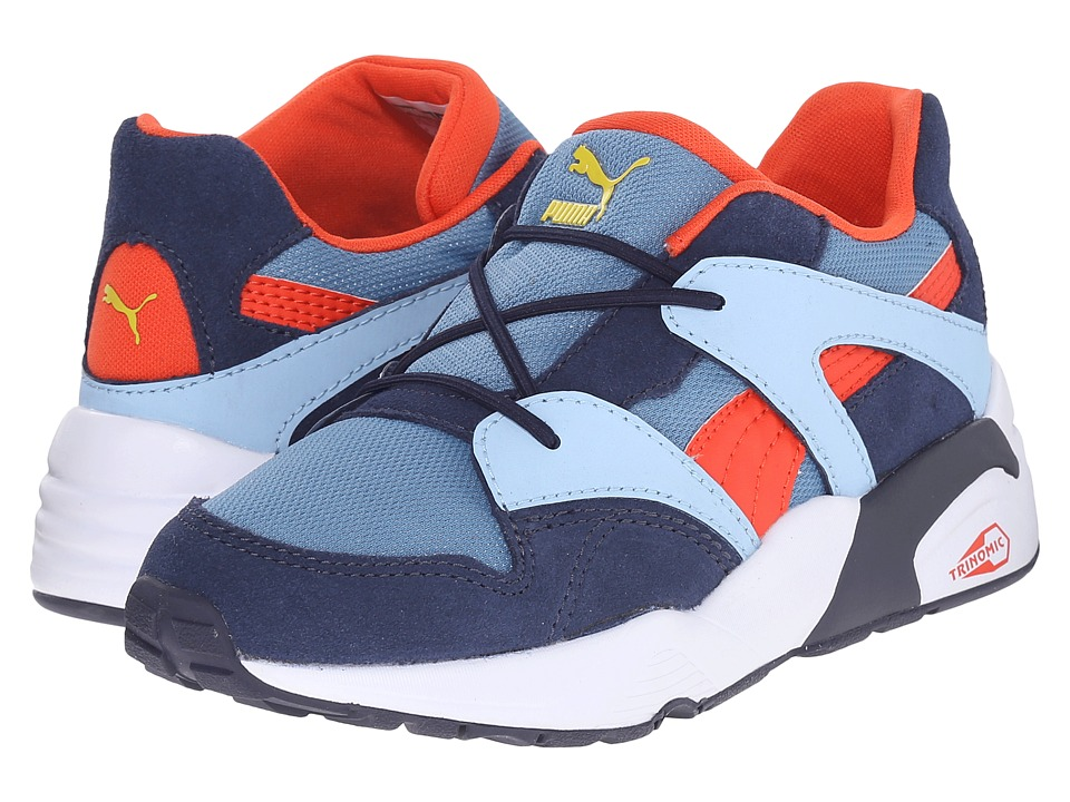 Puma Kids - Blaze (Toddler/Little Kid/Big Kid) (Blue Heaven/Grenadine) Boys Shoes