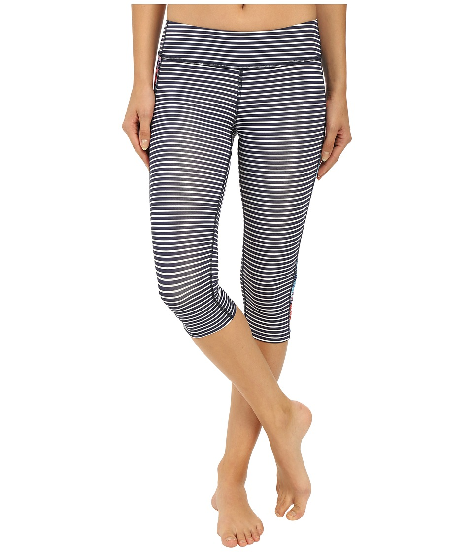 Carve Designs Hampton Capris (Anchor Stripe) Women
