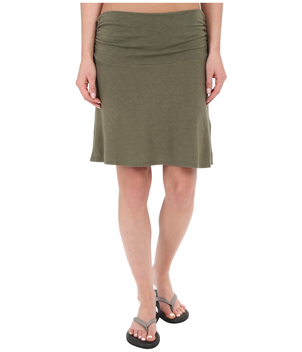 Carve Designs Bennett Flirt Skirt (Fatigue) Women