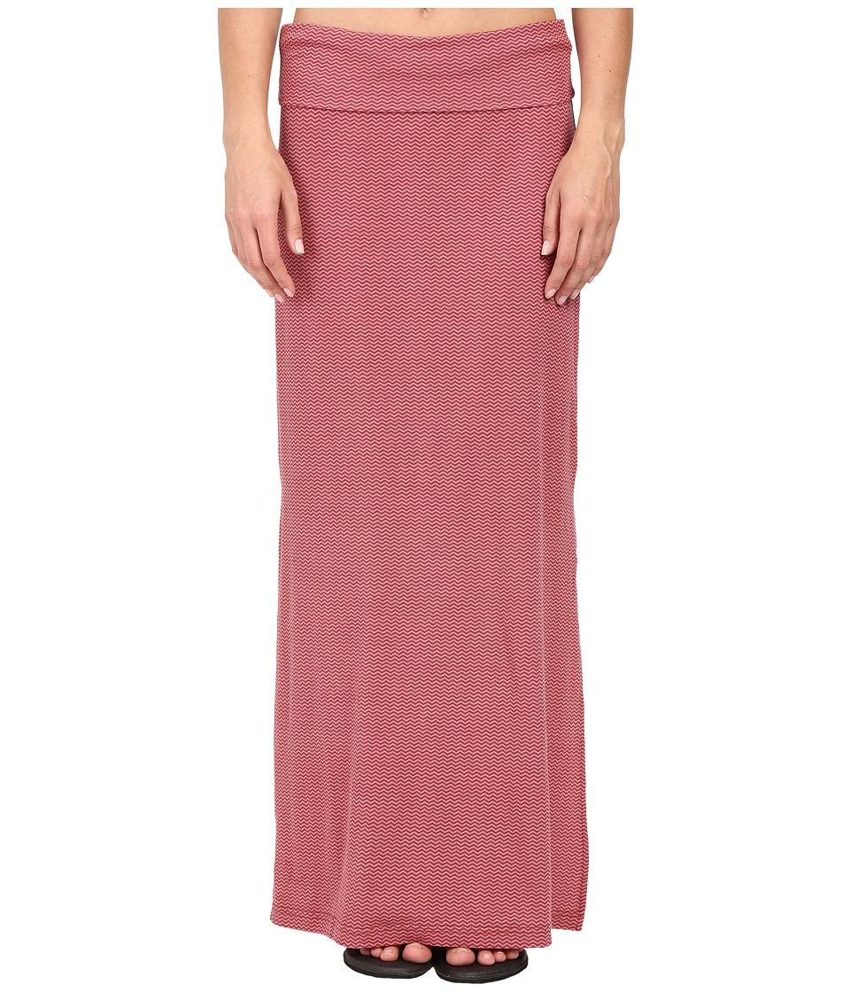 Carve Designs Mahalo Skirt (Sunset Chevron) Women