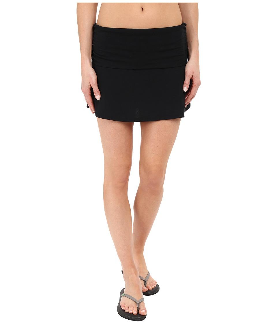 Carve Designs Bennett Flirt Skirt (Black) Women