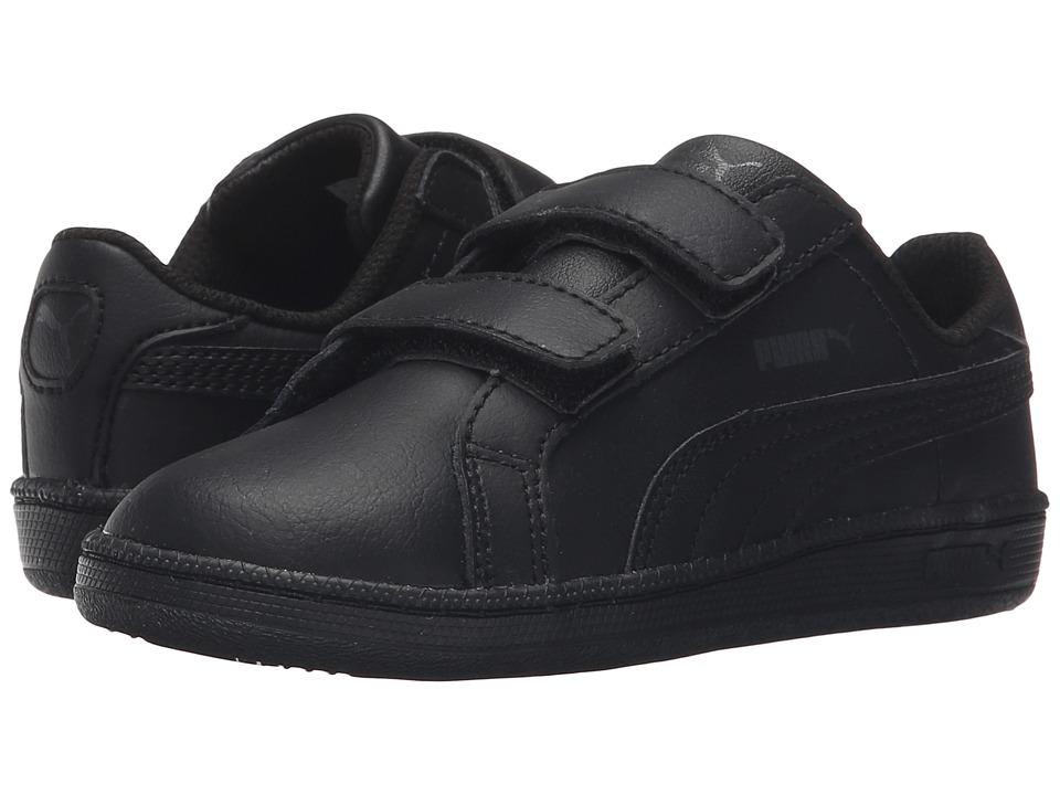 Puma Kids - Smash FUN L V (Toddler/Little Kid/Big Kid) (Black/Black) Boys Shoes