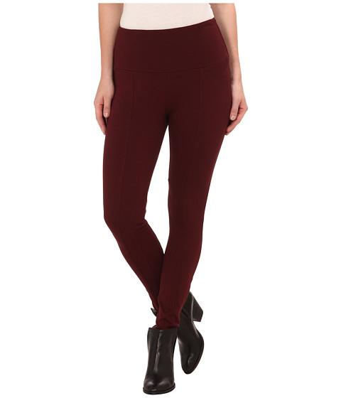 Lysse - Twill Ponte Leggings (Burgundy) Women's Casual Pants