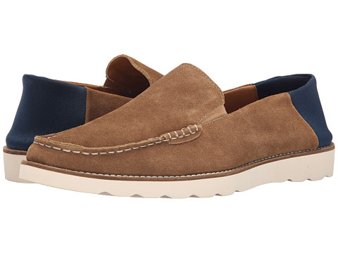 French Connection - Cain (Cognac Washed Suede) Men