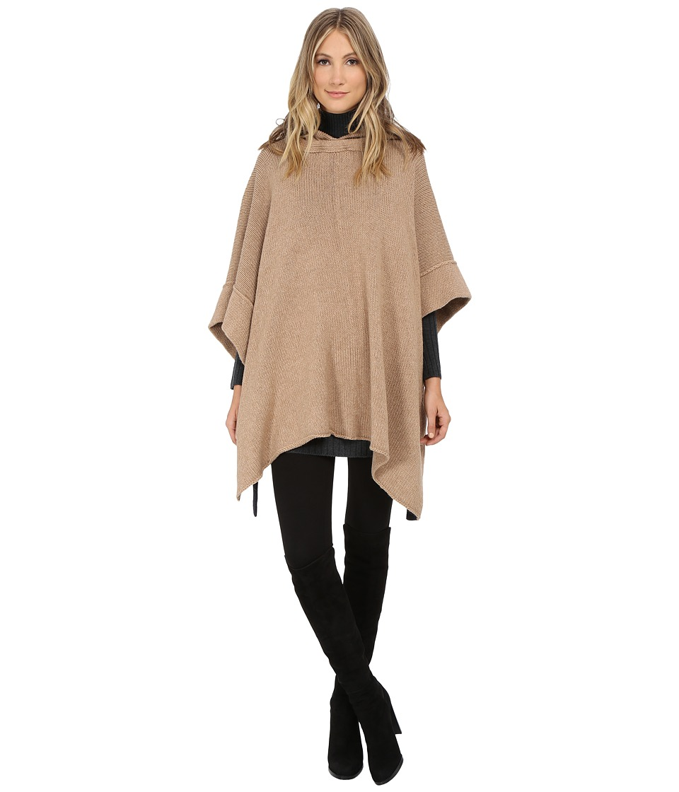 See by Chloe - Knit Pullover Poncho (Camel) Women's Sweater