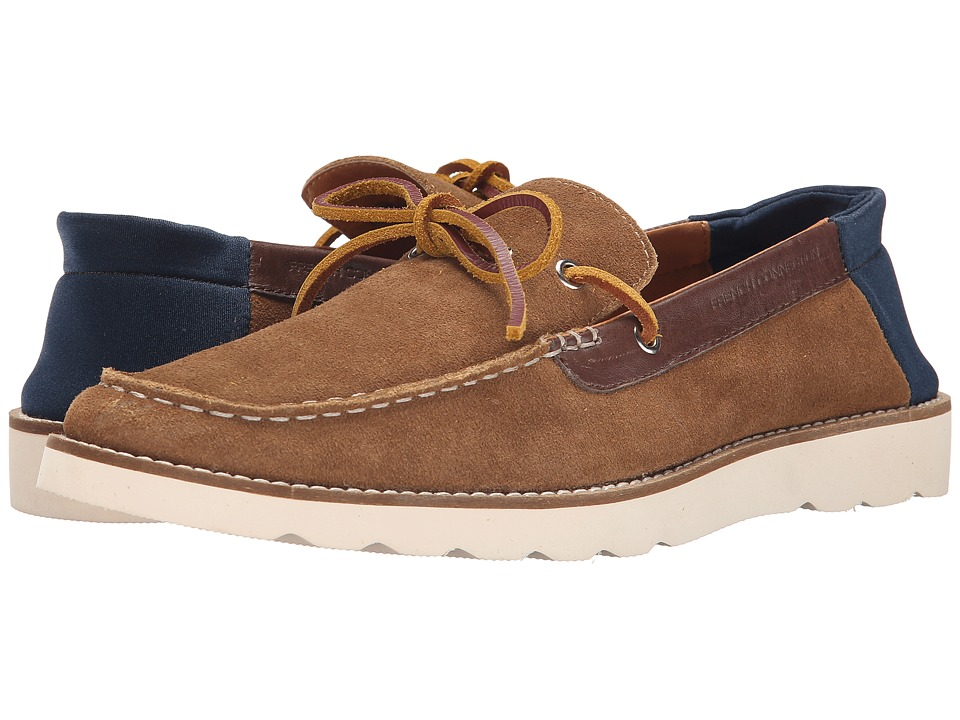 French Connection Calsin (Cognac Washed Suede) Men