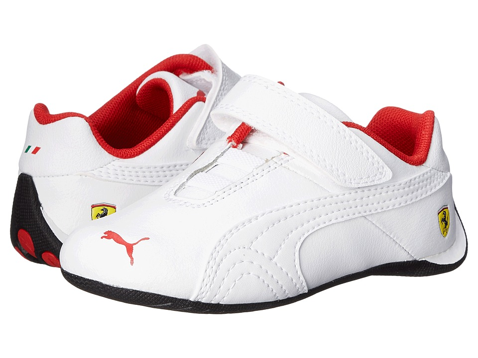 Puma Kids - Future Cat SF V (Toddler/Little Kid/Big Kid) (White/White) Boys Shoes