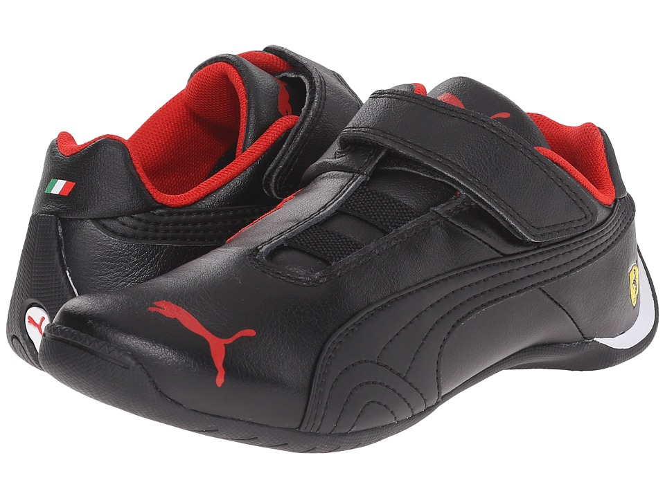 Puma Kids - Future Cat SF V (Toddler/Little Kid/Big Kid) (Black/Black) Boys Shoes