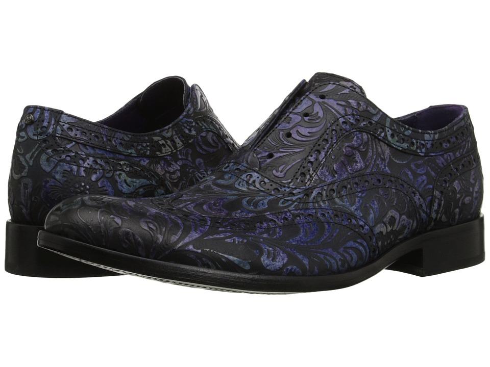 Robert Graham - Vanderbilt (Black/Multi) Men's Slip on Shoes