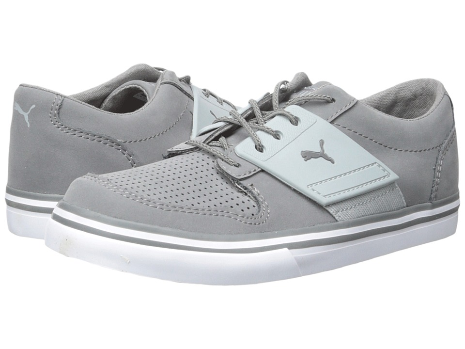 Puma Kids El Ace 2 NBK (Toddler/Little Kid/Big Kid) (Steel Gray/Quarry) Boys Shoes