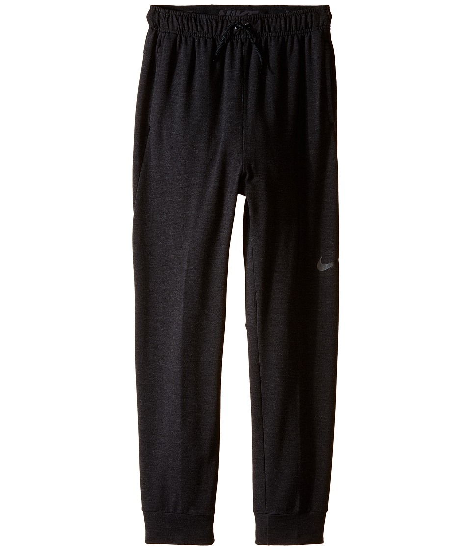 Nike Kids - Dri-FIT Fleece Training Pant (Little Kids/Big Kids) (Black/Black) Boy's Casual Pants