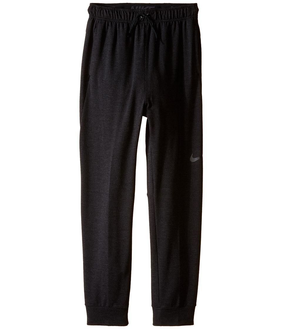 Nike Kids - Dri-FIT Fleece Training Pant (Little Kids/Big Kids) (Black/Black) Boy's Casual Pants