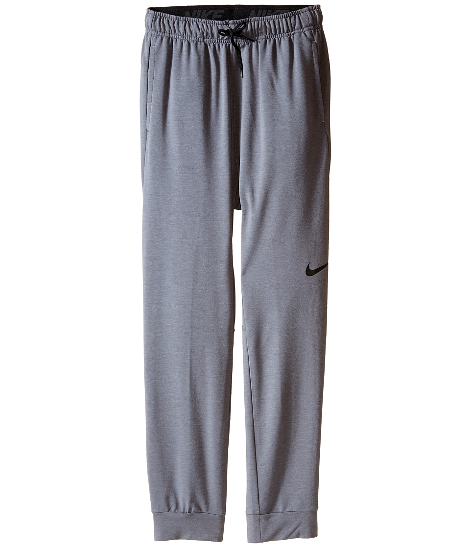 Nike Kids - Dri-FIT Fleece Training Pant (Little Kids/Big Kids) (Cool Grey/Black) Boy's Casual Pants