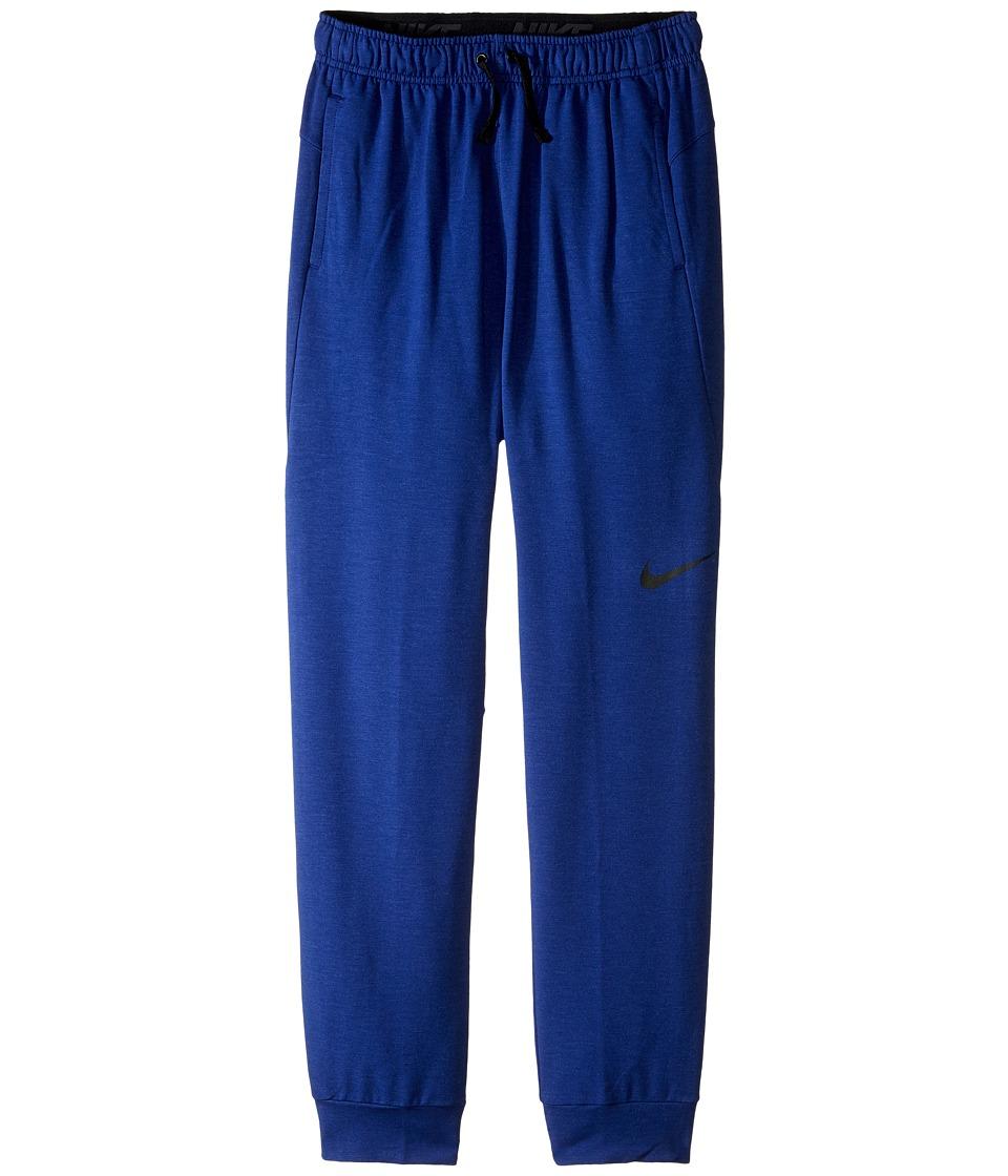 Nike Kids - Dri-FIT Fleece Training Pant (Little Kids/Big Kids) (Deep Royal Blue/Black) Boy's Casual Pants