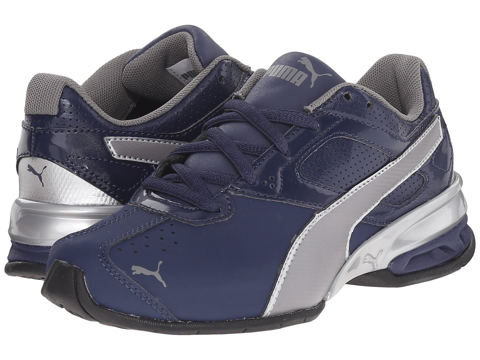 Puma Kids - Tazon 6 SL (Little Kid/Big Kid) (Peacoat/Steel Gray) Boys Shoes