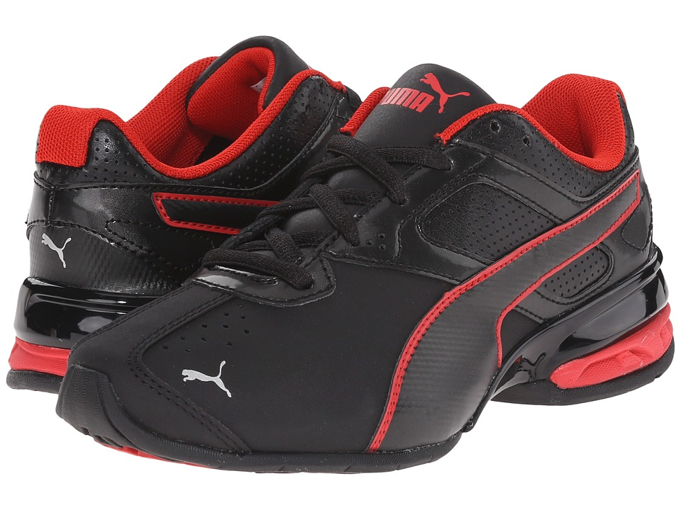Puma Kids - Tazon 6 SL (Little Kid/Big Kid) (Black/Black) Boys Shoes