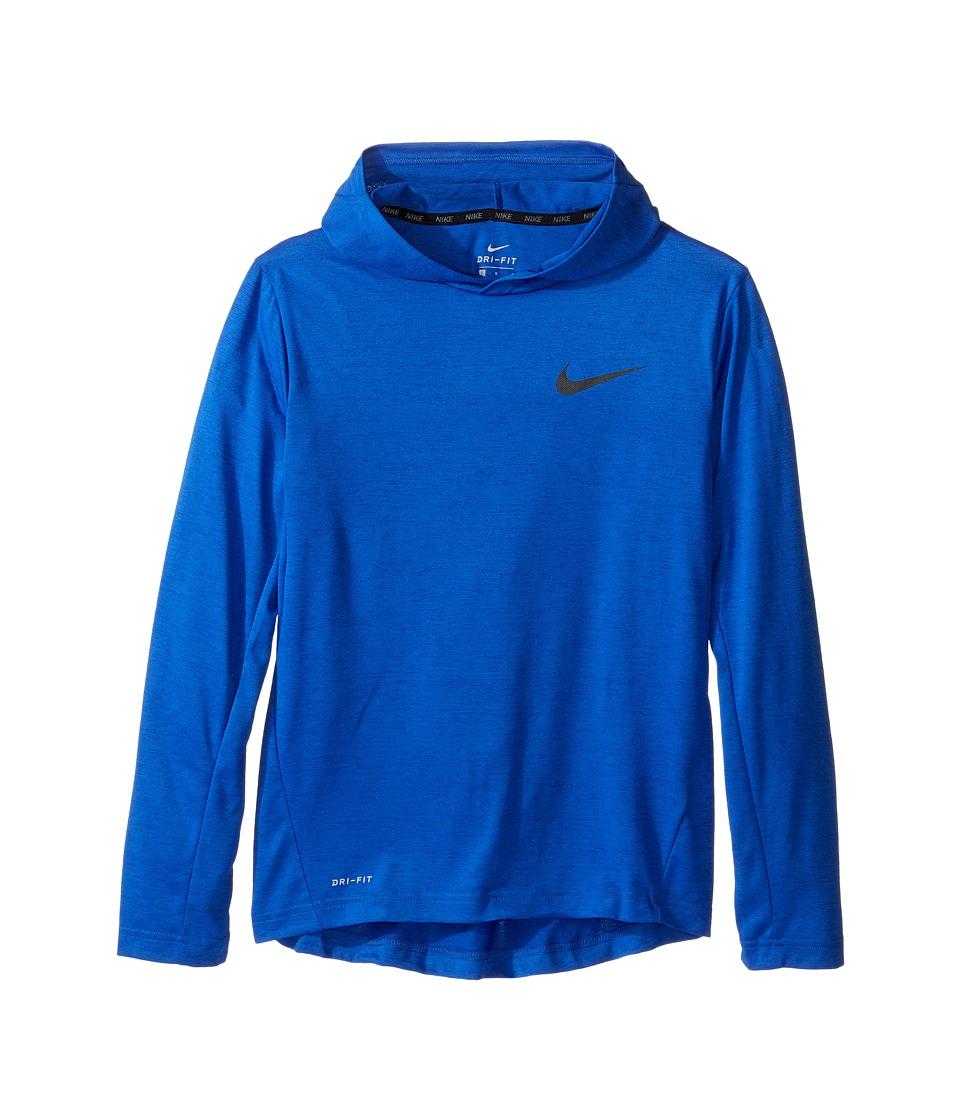 Nike Kids - Training Hoodie (Little Kids/Big Kids) (Game Royal/Black) Boy's Clothing