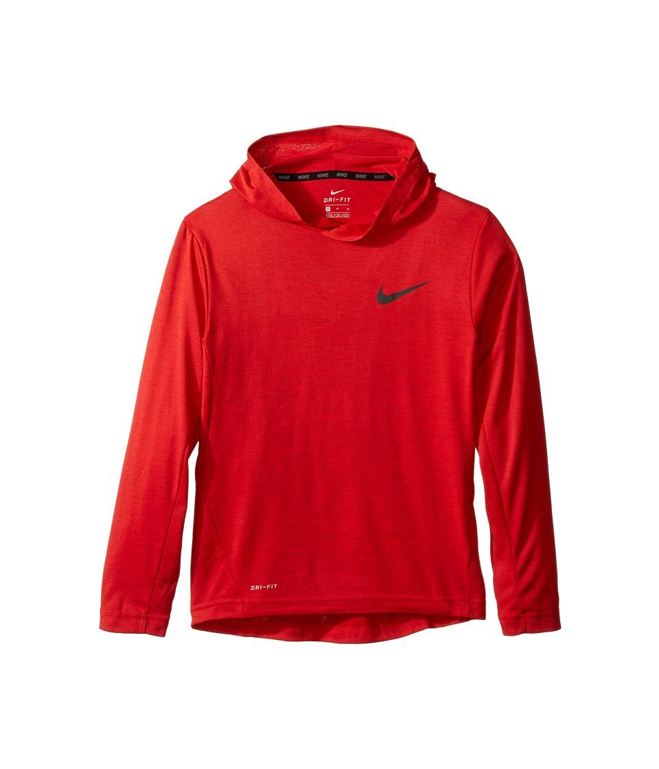 Nike Kids - Training Hoodie (Little Kids/Big Kids) (University Red/Black) Boy's Clothing