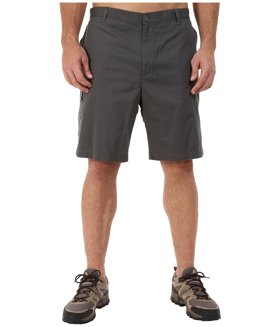 Columbia - Big Tall Red Bluff Cargo Shorts (Grill) Men's Shorts
