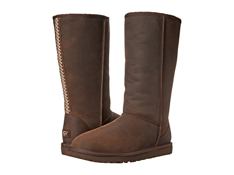 UGG - Classic Tall Tasman (Brownstone) Women's Shoes