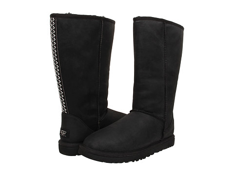 UGG - Classic Tall Tasman (Black) Women's Shoes