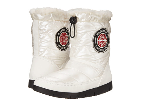 Madden Girl - Icicle (White) Women's Pull-on Boots