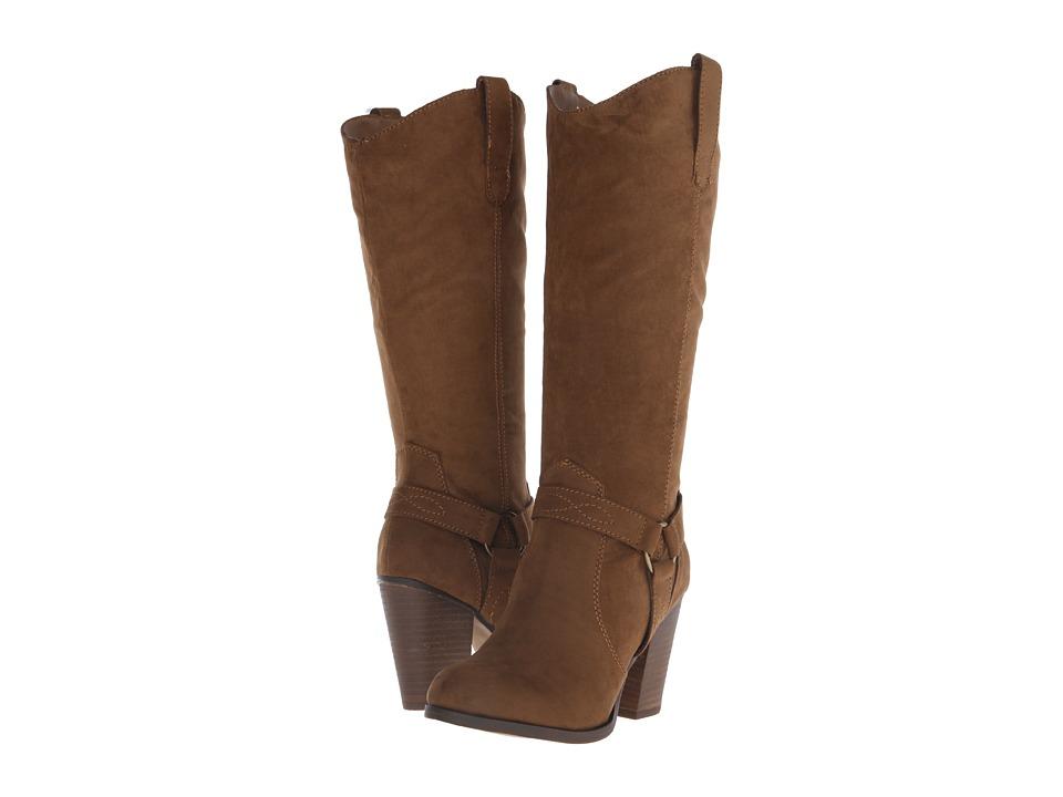 Madden Girl - Arkana (Chestnut) Women's Pull-on Boots